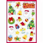 Christmas Cheer Evergreen Mixed Shape Stinky Stickers By Trend Enterprises