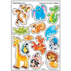 Awesome Animal Stinky Sticker Mixed, T-83031