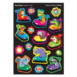 Bumpr Blast/Root Beer Shapes Stinky Stickers, T-83041