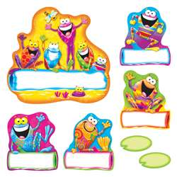 Frog-Tastic Helpers Bulletin Board Set By Trend Enterprises