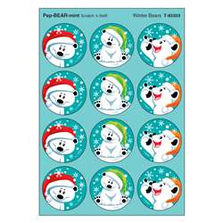 Winter Bears/Pepbearmint Stinky Stickers, T-83303