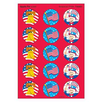 Stinky Stickers American Pride Apple Pie By Trend Enterprises