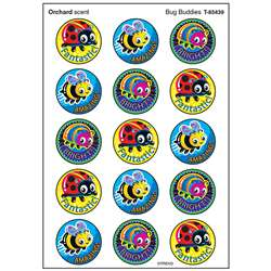 Bug Buddies Stinky Stickers Large Round, T-83439