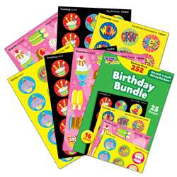 Birthday Stinky Stickers Variety Pack 252 Ct Bundl, T-83918