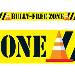 Bolder Borders Bully Free Zone By Trend Enterprises