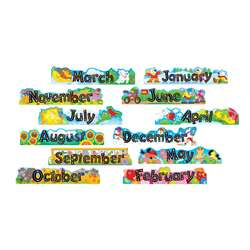 Alpha-Beads 12 Monthly Headers Mini Bbs By Trend Enterprises