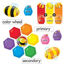 Color Bees Mini Bulletin Board Set By Trend Enterprises