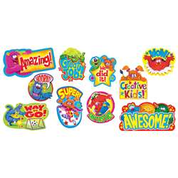 Furry Friends Wow Words Mini Bulletin Board Set By Trend Enterprises