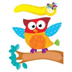 Owl Stars Mini Bulletin Board Set By Trend Enterprises