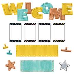 Wipe-Off Welcome Mini Bulletin Board St I Heart Me, T-8772