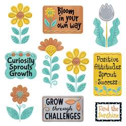 Grow For It Mini Bulletin Board Set I Heart Metal, T-8774