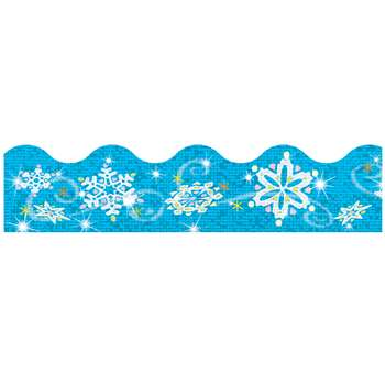 Trimmer Sparkle Snowflakes By Trend Enterprises