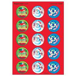Stinky Stickers Christmas 60/Pk Acid-Free Peppermint By Trend Enterprises