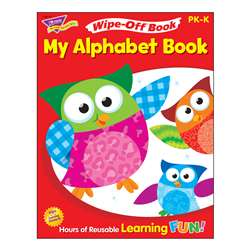 My Alphabet Book 28Pg Wipe-Off Books By Trend Enterprises