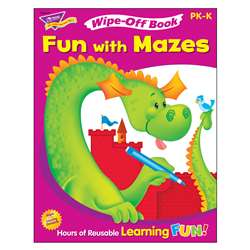 Fun With Mazes Wipe Off Book By Trend Enterprises