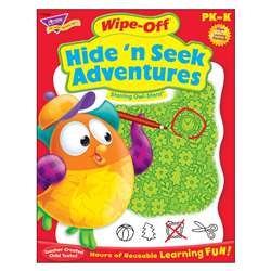 Hide N Seek Adventures Owl Stars Wipe Off Book, T-94226