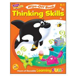 Wipe Off Book Thinking Skills, T-94235