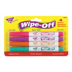 Wipe Off Marker Title W/ 4 New Colors By Trend Enterprises