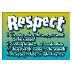 Poster Respect By Trend Enterprises