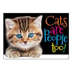 Cats Are People Too Argus Poster, T-A67084