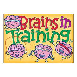 "Brains "" Training Argus Poster, T-A67089"