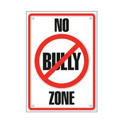 Poster No Bully Zone 13 X 19 By Trend Enterprises