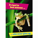 Its Hard To Beat Someone Large Poster By Trend Enterprises