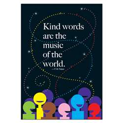 Kind Words Are The Music Large Poster By Trend Enterprises