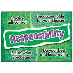 Responsibility Poster By Trend Enterprises