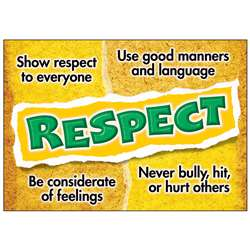 Respect Poster By Trend Enterprises