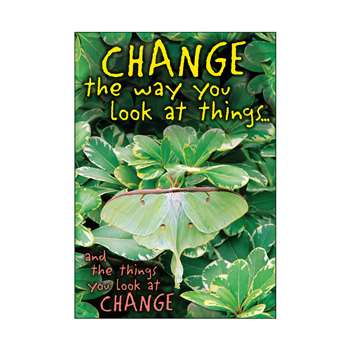 Change The Way You Look At Things Poster By Trend Enterprises
