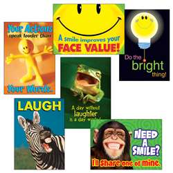 Attitude & Smiles Combo Sets Argus Posters By Trend Enterprises