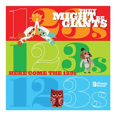 Here Comes The 123S Cd/Dvd Set By They Might Be Gi, TAF10241