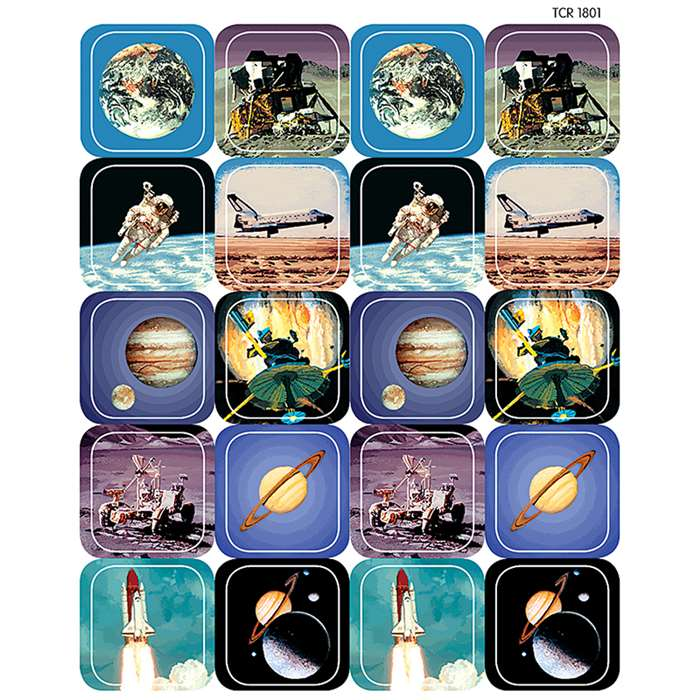 Space Thematic Stickers By Teacher Created Resources