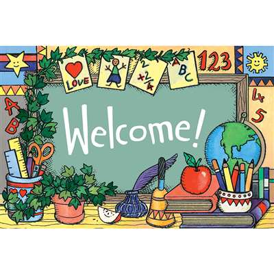 School Tools Welcome 30Pk Postcards By Teacher Created Resources