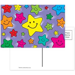 Happy Stars Postcards 30Pk By Teacher Created Resources