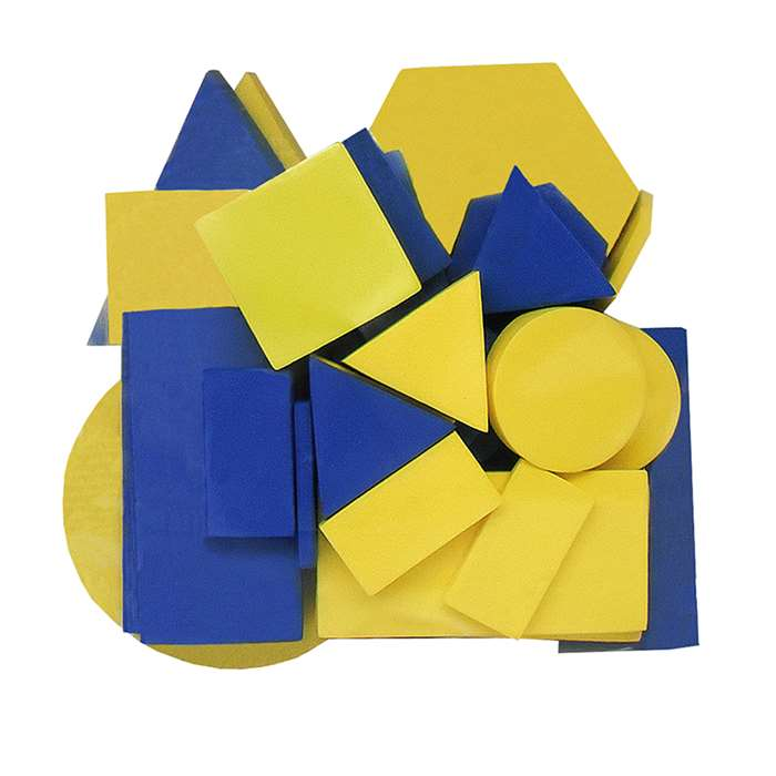 Foam Attribute Blocks By Teacher Created Resources