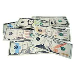 Play Money Assorted Bills By Teacher Created Resources