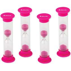 4 Minute Sand Timers Small, TCR20696