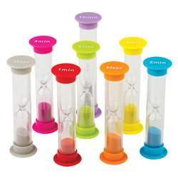 Small Sand Timers Combo 8 Pack, TCR20697