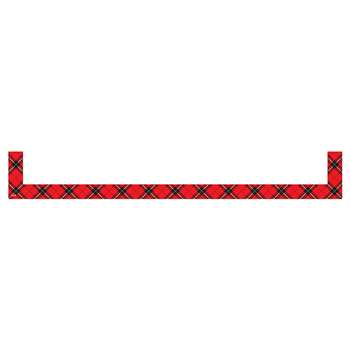 Red Plaid Magnetic Pockets Large, TCR20726