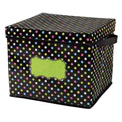 Chalkboard Brights Storage Bins Box 12X125X105, TCR20766