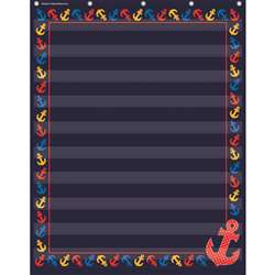 Anchors 10 Pocket 34X44 Pocket Chrt, TCR20779