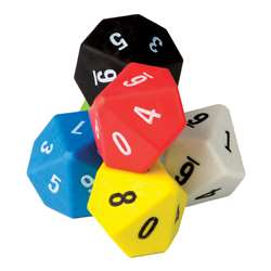 10 Sided Dice 6 Pack, TCR20805