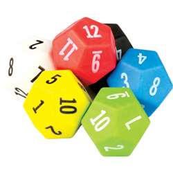 12 Sided Dice 6 Pack, TCR20806