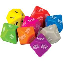 8 Pack Place Value Dice, TCR20807