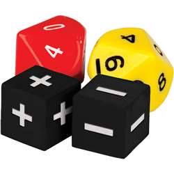 Addition And Subtraction Dice, TCR20811