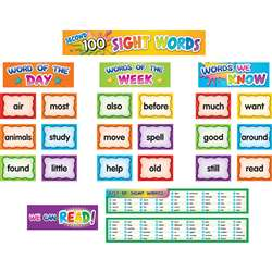 2Nd 100 Sight Word Pockt Chrt Cards, TCR20846