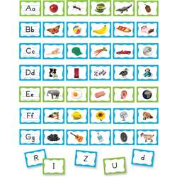 Alphabet Pocket Chart Cards, TCR20852