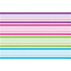 Bright Polka Dots Sentence Strips, TCR20863